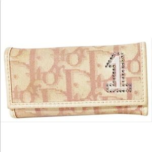 Christian Dior pink girly no.1 trotter key case